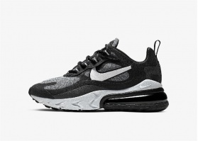NIKE AIR MAX REACT 270 GREY BLACK
