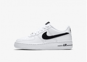 NIKE AIR FORCE WHITE BLACK